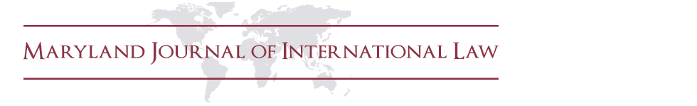 Maryland Journal of International Law