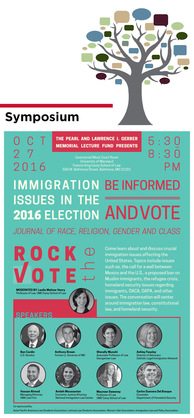 Immigration Issues in the 2016 Election:  Be Informed and Vote, October 27, 2016