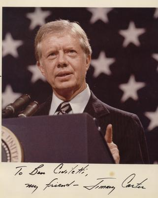 President Jimmy Carter - photograph