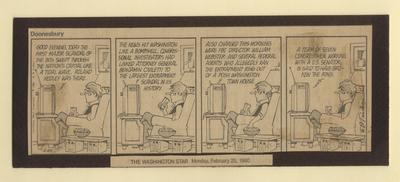 Doonesbury Cartoon - ABSCAM, 1980