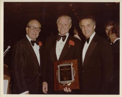 Civiletti Receives Columbus Award, 1978