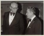 Civiletti with John J. Sirica (photograph) by Benjamin R. Civiletti