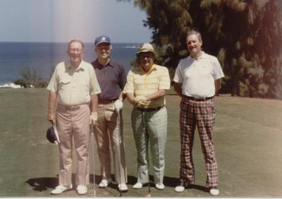 Golf outing (photograph)