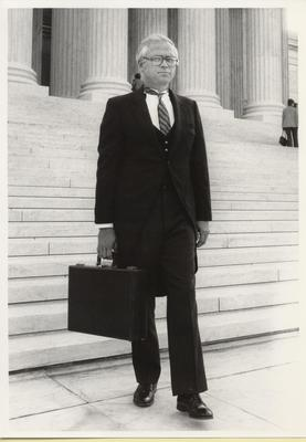 Civiletti, first appearance as Attorney General before the U.S. Supreme Court