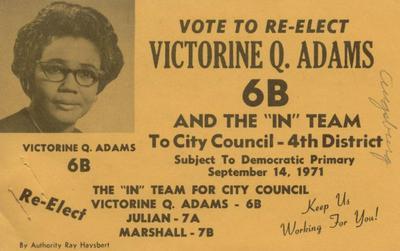 Victorine Q. Adams