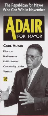 Carl Adair for Mayor