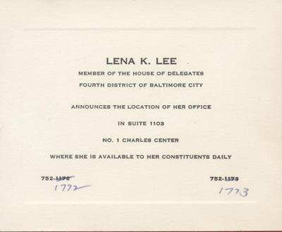 Lena K. Lee