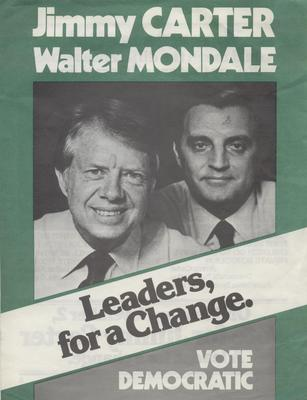 Leaders for a Change - Jimmy Carter, Walter Mondale