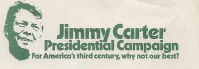 Jimmy Carter Presidential Campaign