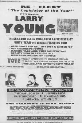 Re-Elect Larry Young