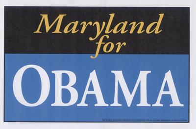 Maryland for Obama