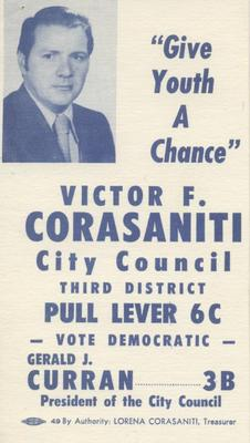 Victor F. Corasaniti for City Council