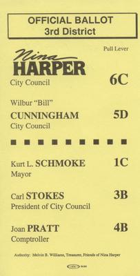 Official Ballot 3rd District