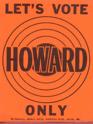 Let's Vote Howard Only