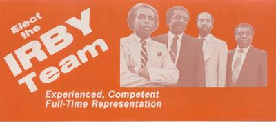 Elect the Irby Team (2)