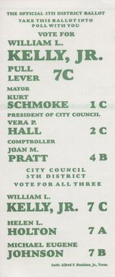The Official 5th District Ballot