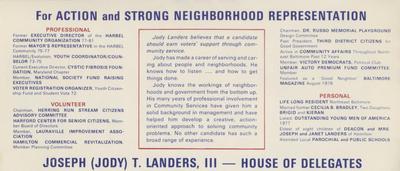 Elect Landers in '82