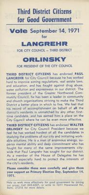 Third District Citizens for Good Government