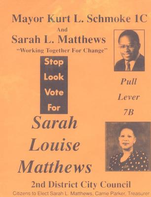 Stop Look Vote for Sarah Louise Matthews