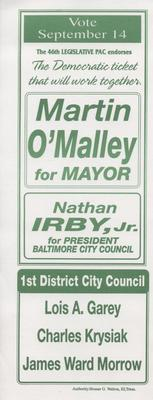 Martin O'Malley for Mayor