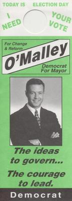 For Change & Reform - O'Malley for Mayor