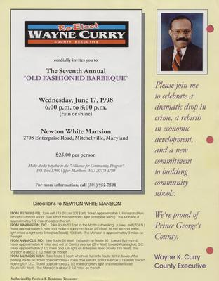 Re-Elect Wayne Curry