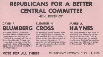Republicans for a Better Central Committee