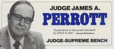 Judge James A. Perrott - Judge Supreme Bench