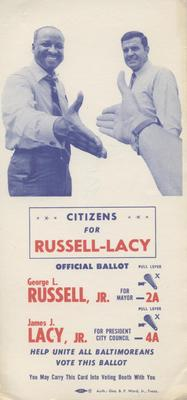 Citizens for Russell-Lacy Official Ballot