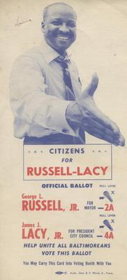 Citizens for Russell-Lacy Official Ballot (alternate image)