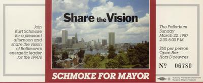 Share the Vision - Schmoke for Mayor