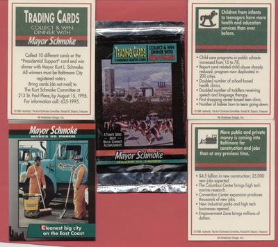 Kurt Schmoke - Trading Cards