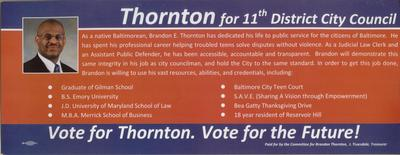 Thornton for 11th District City Council