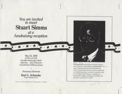 You are Invited to Meet Stuart Simms