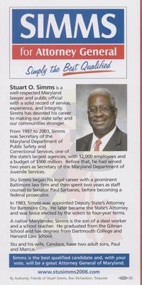 Simms for Attorney General - Simply the Best Qualified