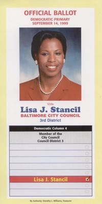 Vote Lisa J. Stancil - Baltimore City Council
