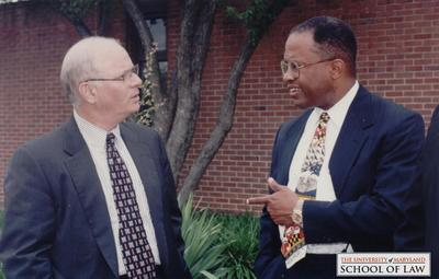 Ben Cardin and Kurt Schmoke