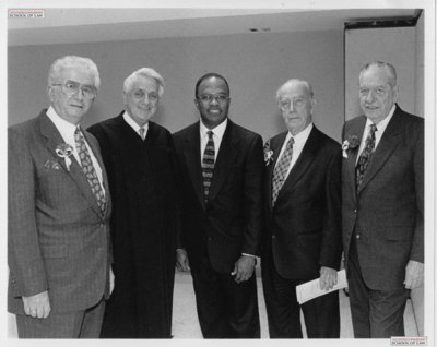 Baltimore Mayors along with Judge Hammerman