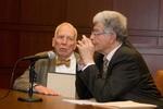 Prof. Clinton Bamburger and Justice Arthur Chaskalson