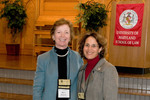 Mary Robinson with Dean Karen Rothenberg.