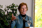 Mary Robinson giving the keynote address.