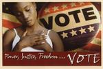 Power, Justice, Freedom...Vote