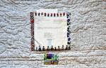Borders I: Baja California (verso) by Patricia Yolande Ciricillo